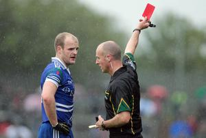 Monaghan's Dick Clerkin did not deserve to suffer a red card against Tyrone last Sunday