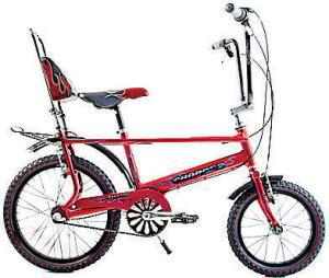 CHILDREN <b>Raleigh Chopper</b><br/> Great for any child over the age of eight, the Raleigh Chopper needs no introduction. New for 2010, the Hot One is an icon of the Seventies that surely deserves a revival. <b>Where</b> www.raleigh.co.uk  <b>How much</b> £250