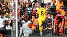 Liverpool 1 Arsenal 1, Anfield, 15 August 2010