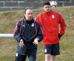 "<b>Albert Riera v Rafael Benitez</b><br/> Albert Riera was quoted last week as saying: ""When the coach says nothing to you and you are well, with no physical problems and training well, you cannot help but think it must be something personal."" He also called his club a ""sinking ship."" With Liverpool currently in free-fall both on the pitch and off it, his comments were not best timed. He was suspended last week and it now appears he'll be offloaded as soon as possible."