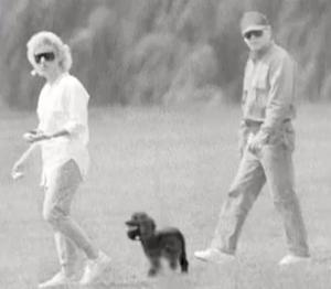 """This image from video provided by the FBI shows James """"Whitey"""" Bulger and his long time girlfriend Catherine Greig shown during a publicity campaign to locate thge fugitive mobster. The FBI finally caught the 81-year-old Bulger Wednesday June 22, 2011 at a residence in Santa Monica along with his longtime girlfriend Catherine Greig just days after the government launched the new publicity campaign to locate the fugitive mobster, said Steven Martinez, FBI's assistant director in charge in Los Angeles. The arrest was based on a tip from the campaign, he said. (AP Photo/FBI)"""