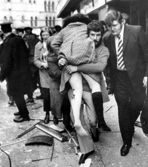 Abercorn Restaurant. The explosion of a bomb in the crowded central Belfast restaurant, the Abercorn , on 4th March 1972, was one of the most horrific incidents of the Northern Ireland violence. Two women were killed - 130 people injured.