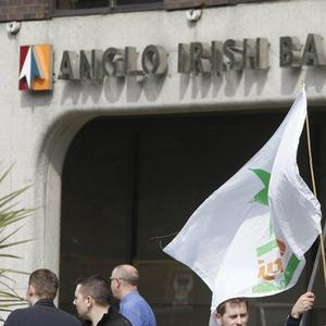 Almost 23 billion euro of taxpayers' money has been ploughed in to bailed-out Anglo Irish Bank