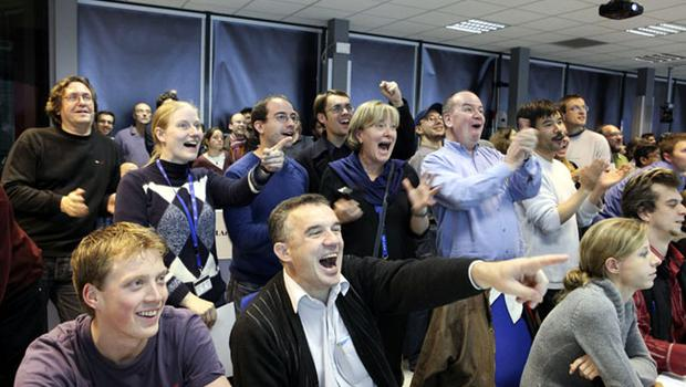 Super. Smashing. Great: Scientists delighted as LHC fires up