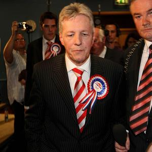 DUP leader Peter Robinson has hinted that the state may not fund church schools