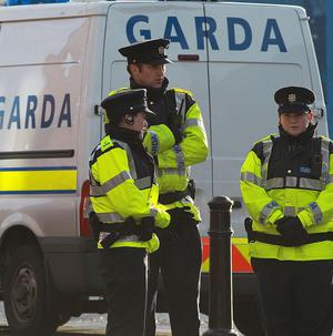 A pipe bomb which injured a child was left outside a Newtownmountkennedy property