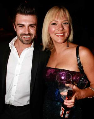 Matthew Toman, the 2008 Pepsi Sexiest Man, and Shantala Porter are pictured at the final of Pepsi Sexiest Man 2009 in association with Northern Woman. The final took place in Northern Whig, Belfast (10 September).