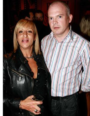 Lucy Anderson, Belfast, and Brendan McGrenaghan, Downpatrick, are pictured at the final of Pepsi Sexiest Man 2009 in association with Northern Woman. The final took place in Northern Whig, Belfast (10 September).