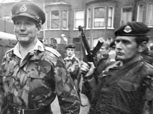 General Sir Robert Ford, Britain's Commander of Land Forces in Northern Ireland, pictured on July 3, 1972