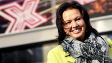 Alyson Hogg, Vita Liberata founder and chief executive, outside the X Factor auditions
