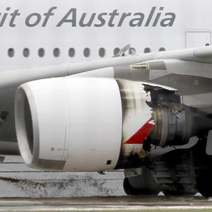 An engine on an A380 'superjumbo' broke minutes into a flight from Singapore to Sydney last week