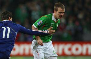 <b>Glenn Whelan - 8</b><br /> Outstanding. Exacted the firmest retribution on Las Diarra with some thunderous tackling and his distribution was of the highest order, finding his range with a couple of accurate crossfield passes