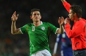 <b>Keith Andrews - 7</b><br /> Anonymous for the opening quarter but his mere presence ensured that the French weren't able to pour through midfield with the same alacrity with which they had done last Saturday. Eventually warmed to the game's heartbeat