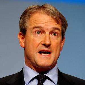 Owen Paterson's role in controlling national security matters in Northern Ireland has been backed by the Police Federation