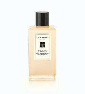 <b>9. Jo Malone shower gel: £30 for 250ml, Jo Malone, jomalone.co.uk - </b>A showertime classic in lime, basil and mandarin, this citrus scent is sweet but peppery and perfect for men or women.