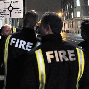 Firefighters are to stage two eight-hour strikes in the capital, it has been announced