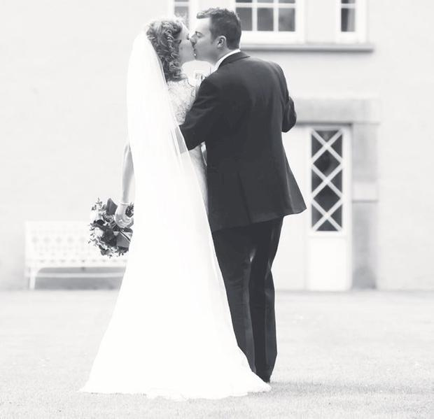 """The wedding of Sara McConkey to James Hunter took place at St Brigid's Parish Church, in Belfast, with the reception held at the Dunadry Hotel. <p><b>To send us your Wedding Pics <a  href=""""http://www.belfasttelegraph.co.uk/usersubmission/the-belfast-telegraph-wants-to-hear-from-you-13927437.html"""" title=""""Click here to send your pics to Belfast Telegraph"""">Click here</a> </a></p></b>"""