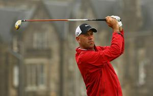 Stewart Cink at The Open. July 2010