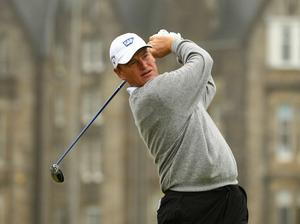 Ernie Els at The Open. July 2010