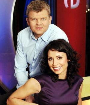 Christine Bleakley and Adrian Chiles