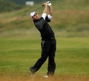 Oliver Wilson at The Open. July 2010