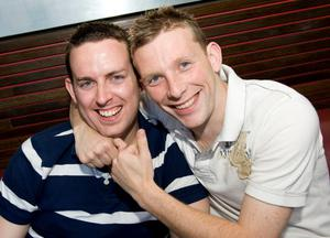 Madisons Belfast pictured Phil Murphy and Steve Tittenson