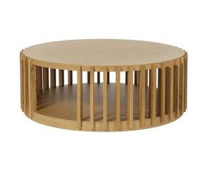 <b>4. Drum Coffee Table</b><br/> Heal's, £695. Designed by up-and-comer Leonhard Pfeifer, this cylindrical oak piece from the Heal's Discovers collection also offers plenty of room for storing books and magazines. 08700 240 780, heals.co.uk