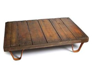 <b>6. Low Coffee Table</b><br/> Nixey & Godfrey, £275. For anyone concerned with furniture overcrowding, this industrial-style table is just the ticket. 01263 710 712, nixeyandgodfrey.com