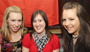 Elaine McQuillan, Lisa Adams and Mary McBride at Ryans Bar and Grill