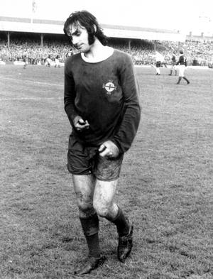 Football legend George Best