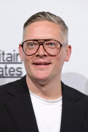 Giles Deacon attends Britain Creates 2012: Fashion & Art Collusion  at Old Selfridges Hotel on June 27, 2012 in London, England.