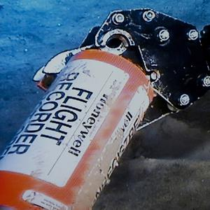 The flight data recorder from the 2009 Air France flight that went down in the mid-Atlantic has been found on the sea bed(AP/BEA)