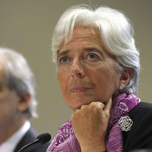 New head of the International Monetary Fund Christine Lagarde said Greece still faced significant challenges (AP)