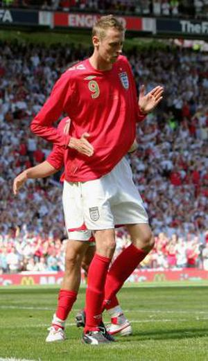 <b>Peter Crouch</b> Crouch proved being tall and wiry was no bar to 'throwing some shapes' with his robot dance celebration after scoring against Hungary. The player has been mocked for it ever since.