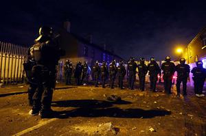 Officers deal with disturbances in the Village area of south Belfast