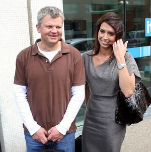 Christine Bleakley and Adrian Chiles are the presenters of the ITV1 show Daybreak