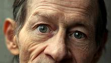 This close-up picture of Alex Higgins taken by Ulster photographer Cathal McNaughton