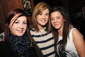 Frances Hand, Orla Taylor and Cliodhna Taylor in The KitchenBar, Belfast