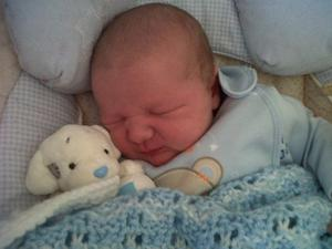 "Louis John Michael Hutchinson ~  Born Thursday 25th August ~ 2011 9lbs. 4oz  to Denise and John. A brother for Chloe and Phoebe of Ballyclare. <p><b>To send us your Baby Pics <a href=""http://www.belfasttelegraph.co.uk/usersubmission/the-belfast-telegraph-wants-to-hear-from-you-13927437.html"" title=""Click here to send your pics to Belfast Telegraph"">Click here</a> </a></p></b>"