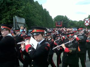 Ballynahinch Orange Parade. July 2012. Picture submitted by I Patterson