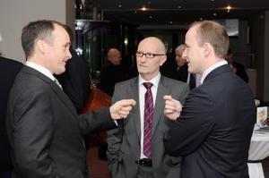 Howard Hastings (Hastings Hotels), Colin Neill (Pubs of Ulster), Andrew Nethercott (Dale Farm)