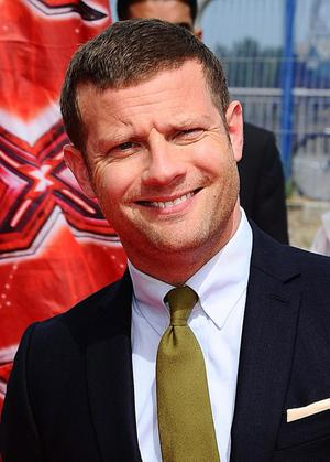 Dermot O'Leary topped a poll of sexiest men on TV in the UK