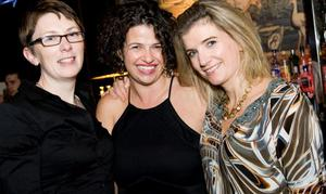 Berts Jazz bar pictured Adrienne Carnie, Claire O'Kane and Joanne McCoubry