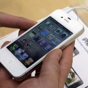 Demand for the white iPhone has been high in China (AP)