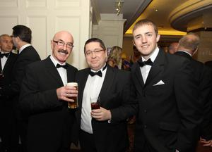 Liam Beckett, Gerard Lawlor and Michael Clarke