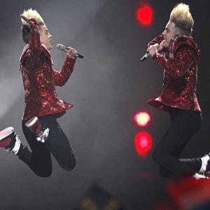 Jedward made it to the Eurovision Song Contest final in Duesseldorf, Germany (AP)