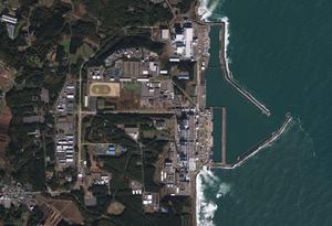 This Nov. 15, 2009 photo provided by GeoEye shows the Fukushima Dai-ichi nuclear complex in Japan. An 8.9-magnitude earthquake struck Japan on March 11, 2011, causing a tsunami that devastated the region. Four nuclear plants in northeastern Japan have reported damage, but the danger Monday appeared to be greatest at the Fukushima Dai-ichi complex, where one explosion occurred over the weekend and a second was feared.  (AP Photo/GeoEye) MANDATORY CREDIT, NO SALES