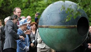 The Queen visits the Irish National Stud on May 19, 2011 in Kildare, Ireland.