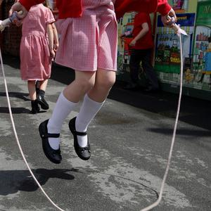 A pre-school has hit out at reports of a fight between two pupils