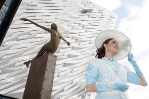 The opening of the new Titanic Belfast tourism project